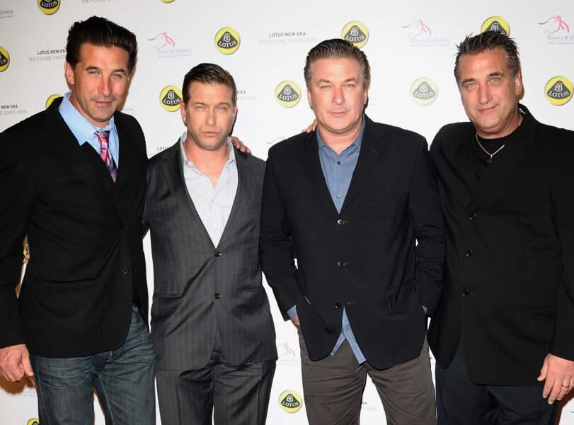 Daniel, William, Alec et Stephen Baldwin : un quatuor de choc