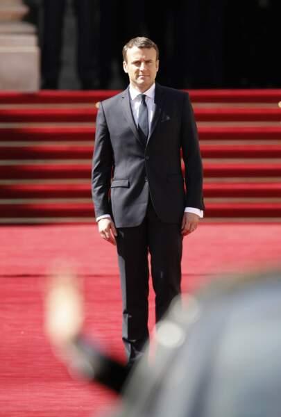 Emmanuel Macron, le président de la République