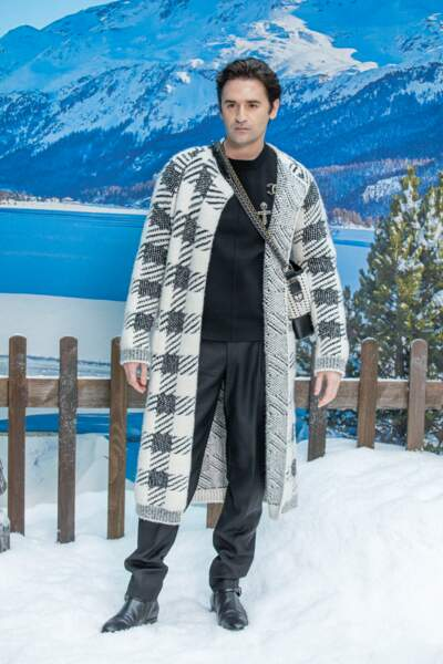 Nicolas Maury au défilé Chanel pour un dernier hommage à Karl Lagerfeld