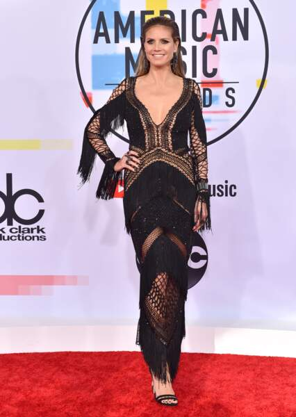 Do Heidi Klum et sa robe sensuelle