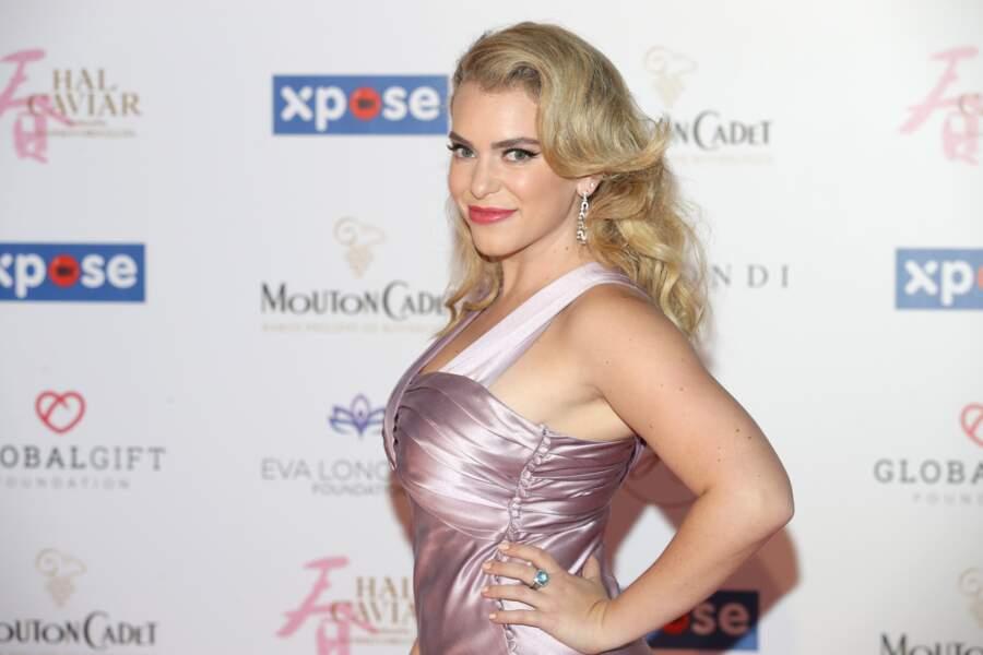 Global Gift Gala 2019 : L'actrice est apparue dans une sublime robe rose
