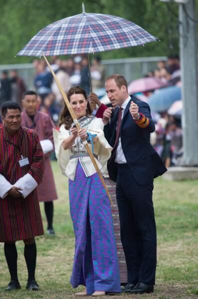 Quelques petits conseils de son époux le prince William pour commencer