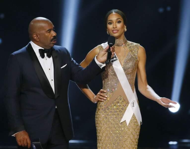 Iris Mittenaere élue Miss Univers : les Miss ont ensuite répondu à des questions