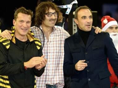 Nikos, Antoine de Caunes, Nagui avec leurs douces moitiés pour les Gucci Masters