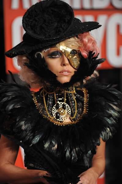 MTV Video Music Awards : Lady Gaga ou le gros corbeau doré, 2009