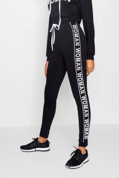 Pantalon de jogging Slogan Lucia Fit, Missguided, 19 euros