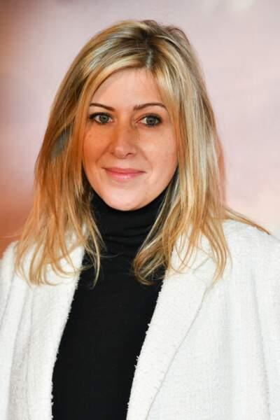 Amanda Sthers à l'avant-première de son film Holy Lands, le 4 décembre à Paris