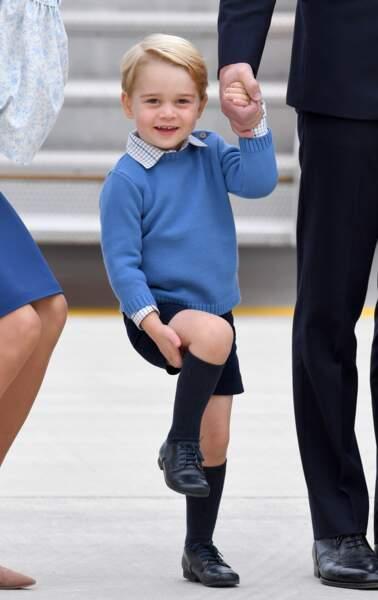 Anniversaire du Prince George - Septembre 2016 : George découvre le Canada