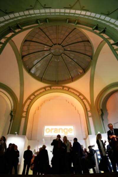 Une grande messe de l'art contemporain avait lieu ce mercredi soir.
