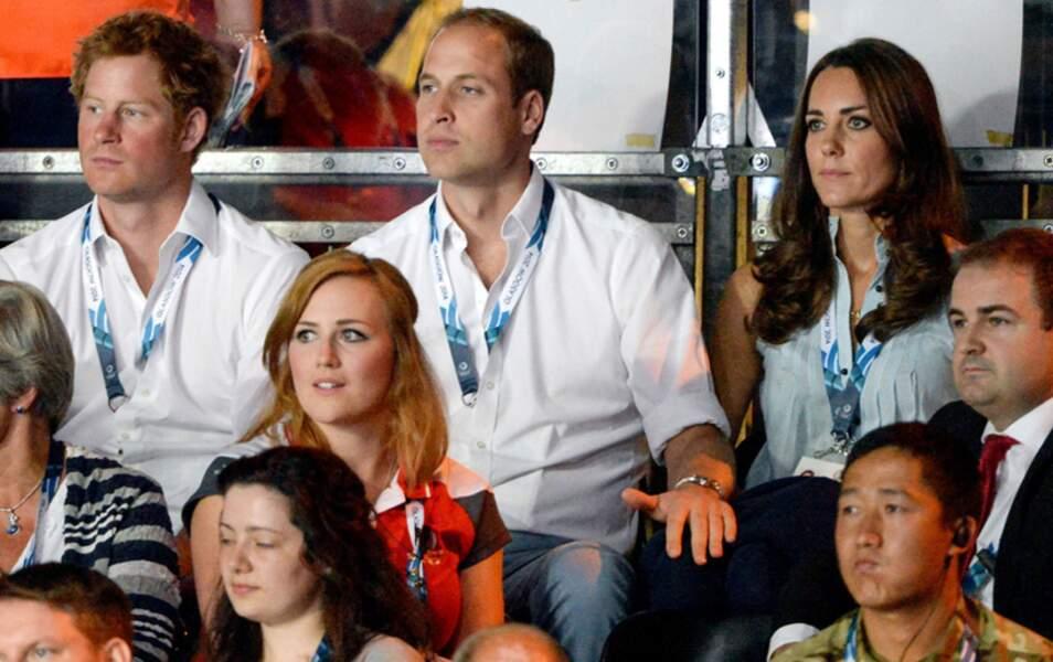 William aussi cherche la cuisse de Kate...