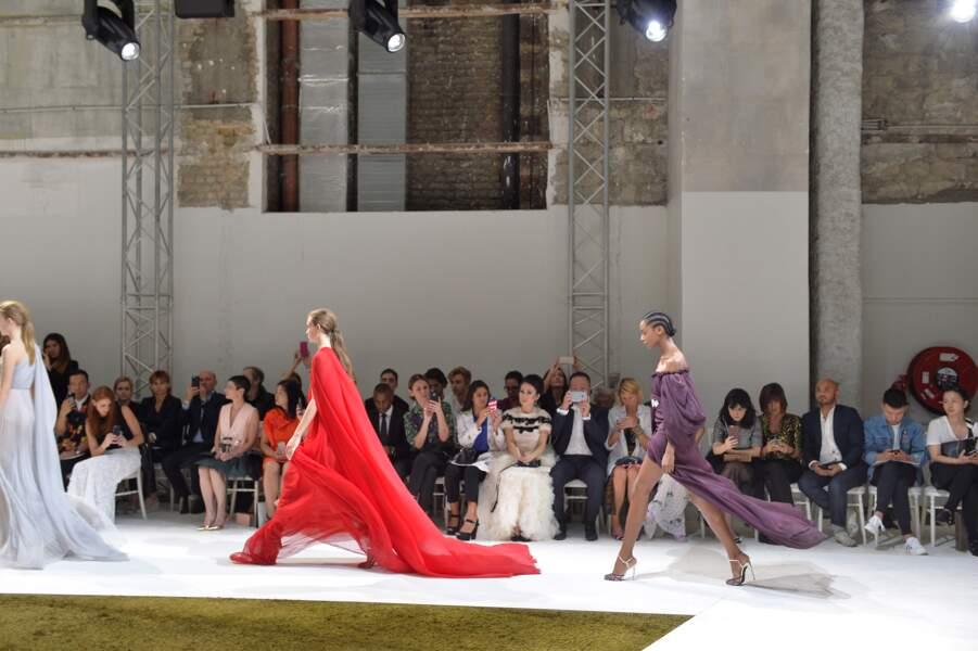 Défilé Giambattista Valli Haute Couture Automne Hiver 2016 2017