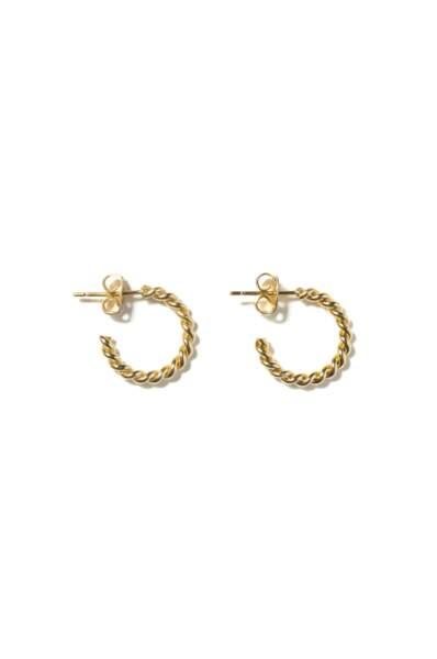 Boucles d'oreilles Titien, Balzac Paris, 55€