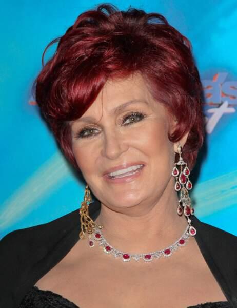 Perte de poids de stars : Sharon Osbourne avant