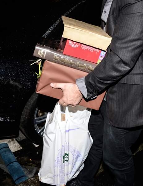 Un livre sur Le Parrain, un coffret de la Comédie française et un cadeau même pas déballé !