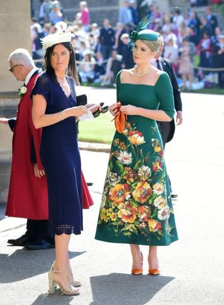 Lady Kitty Spencer (à gauche), nièce de Diana