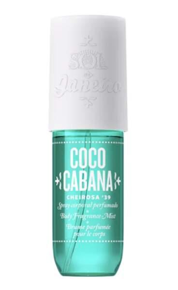 Brume parfumée pour le corps, Sol de Janeiro, 15€