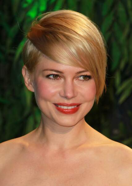 La coupe courte de Michelle Williams