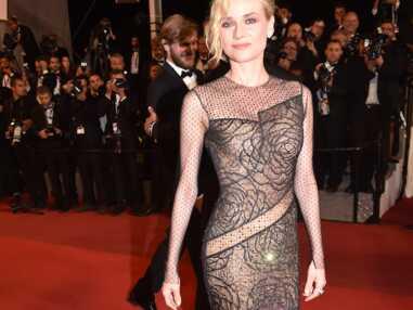PHOTOS Cannes 2017 : Diane Kruger éblouissante en robe transparente
