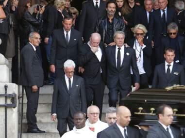 Obsèques de Mireille Darc en l'église Saint-Sulpice à Paris