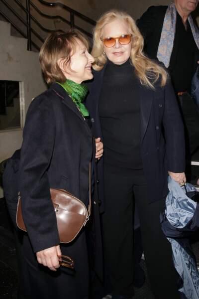 Soirée en hommage à Danielle Darrieux : Nathalie Baye et Sylvie Vartan