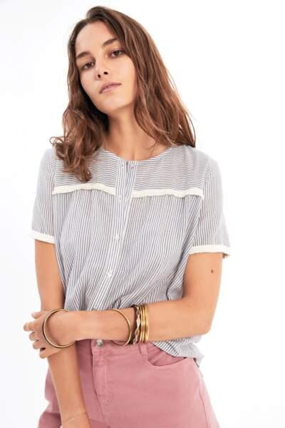 Balzac Paris : Chemise Lisa à rayures
