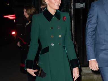 L'obsession Mode de Kate Middleton : le vert sapin