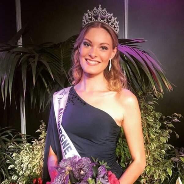 Election de Miss France 2018 - Marie-Anne Halbwachs est Miss Auvergne 2017