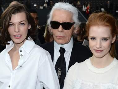 Vanessa Paradis, Mila Jovovich, Caroline de Hanovre : les people au défilé Chanel