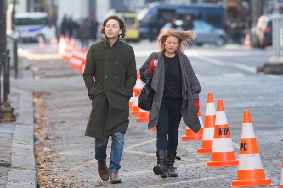 Raphaël et Mélanie Thierry