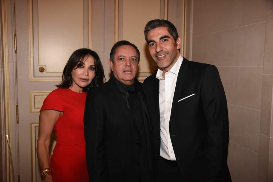 Gala Les Stethos D'Or 2018 : Edouard Nahum et Ary Abittan