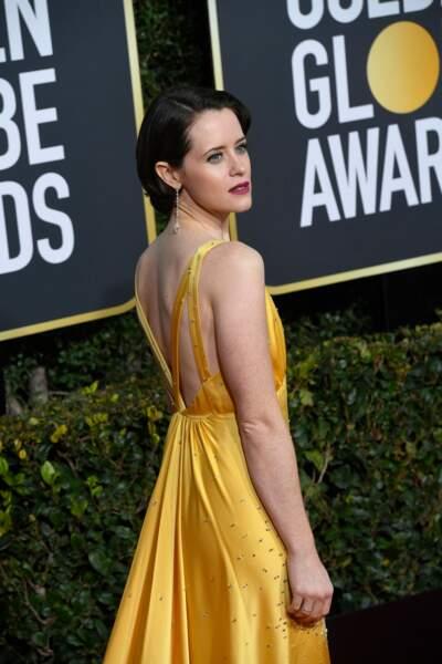 76ème cérémonie des Golden Globes : Claire Foy