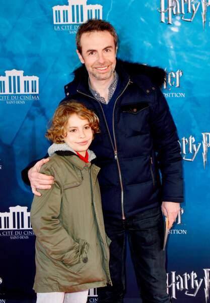 Matthieu Gonet et son fils