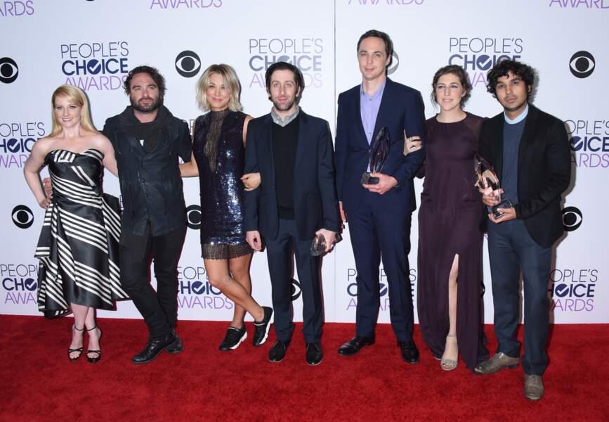 Alors voilà, dans la vraie vie les acteurs de The Big Bang Theory c'est ça !