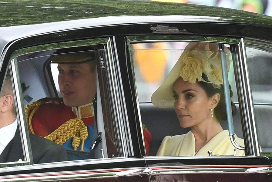 Prince William et Kate Middleton à Trooping the Colour, Londres