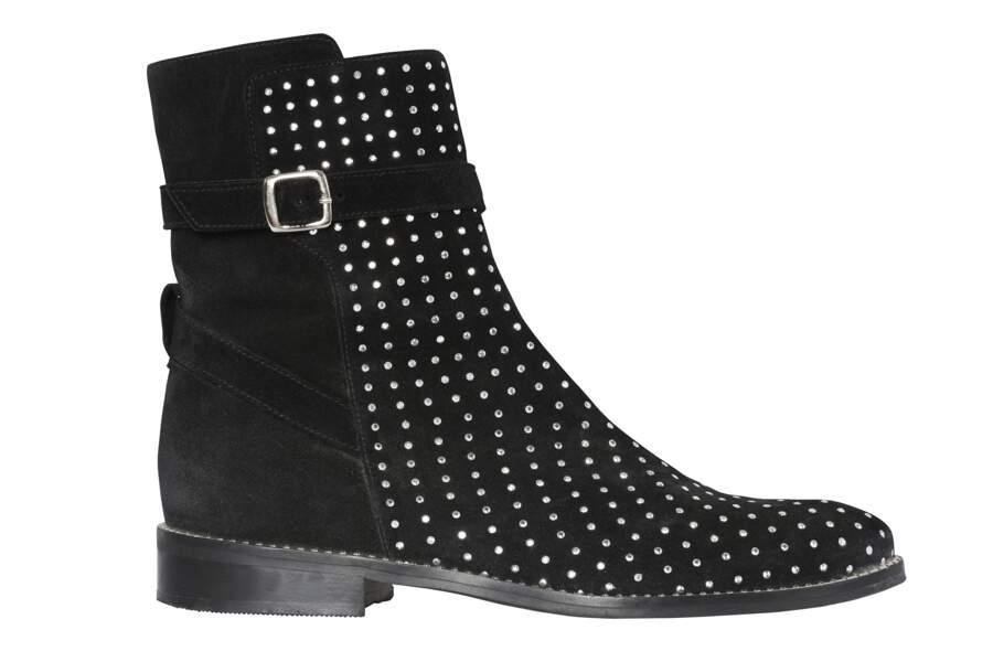 Georgia May Jagger x Morgan : Boots Jany.n, 159€