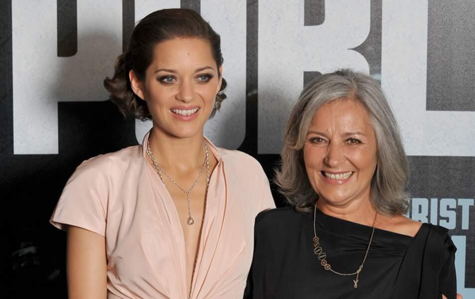 Marion Cotillard et sa mère