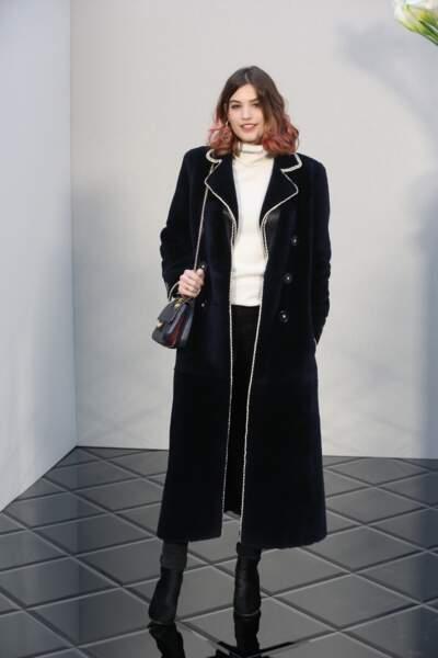 Défilé Chanel Haute Couture : l'actrice Alma Jodorowsky (La Vie d'Adèle)