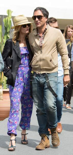 Vanessa Paradis et Samuel Benchetrit officialisent leur jolie histoire d'amour à Locarno