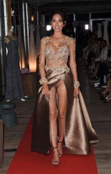 Accident de robe : Farrah Abraham lors d'une soirée pendant le Festival de Cannes