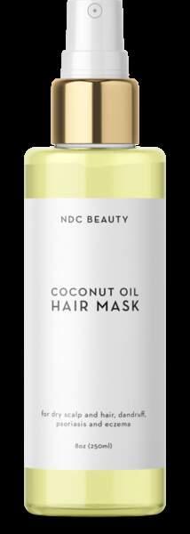 Huile à la noix de coco pour les cheveux, NDC Beauty, 27$