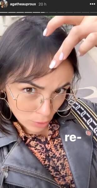 Agathe Auproux sur Instagram, le 11 juin 2019