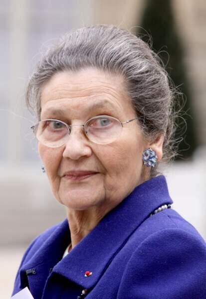 Rétro 2017 - Mort de Simone Veil, femme politique, à 89 ans