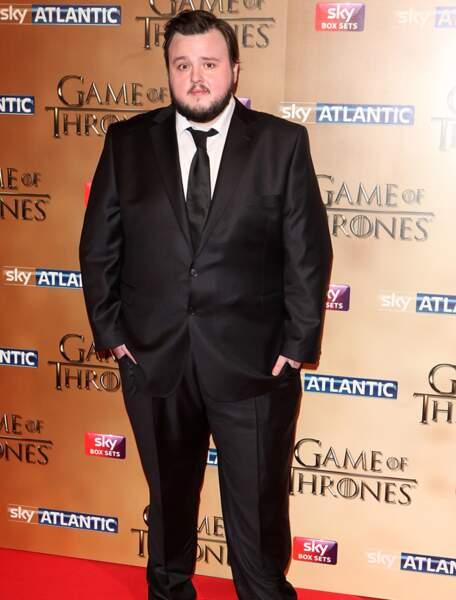 John Bradley porte la même barbe que son personnage...