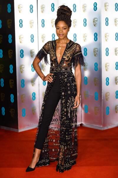 Naomie Harris aux BAFTA Film Awards 2018 à Londres, le 18 février