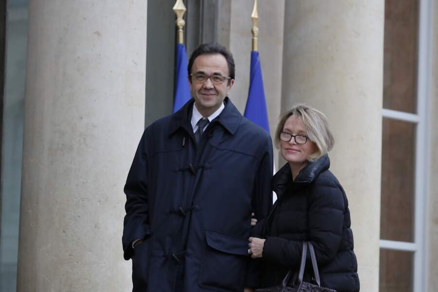 Line Renaud décorée : Claude Chirac et son époux, Frédéric Salat-Baroux