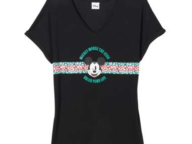 Camaïeu célèbre les 90 ans de Mickey Mouse