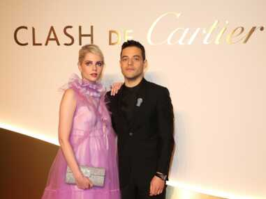 VOICI - Monica Bellucci à tomber face à une pluie de beaux gosses lors d'un dîner Cartier