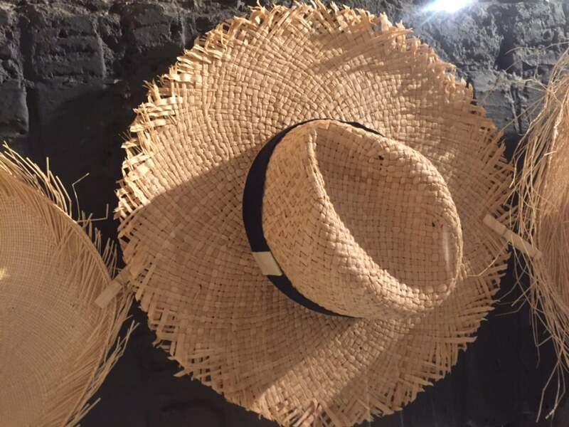 Chapeau en rafia Elegant, La Cerise sur le Chapeau, 90€