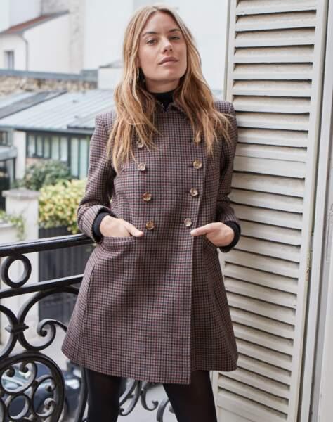Camille Rowe x Pablo : les visuels de la collection automne/hiver