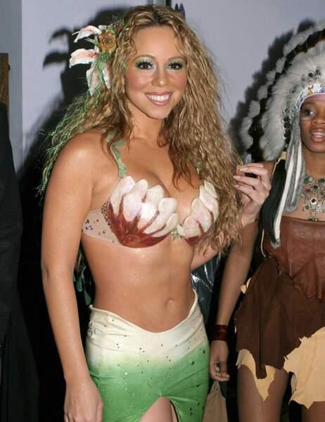 Mariah Carey en sirène